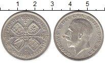 Изображение Монеты Европа Великобритания 1 флорин 1929 Серебро VF