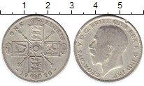 Изображение Монеты Великобритания 1 флорин 1920 Серебро VF Георг V