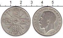 Изображение Монеты Европа Великобритания 1 флорин 1921 Серебро VF