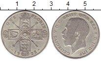 Изображение Монеты Великобритания 1 флорин 1922 Серебро VF Георг V