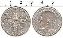 Изображение Монеты Великобритания 1 флорин 1923 Серебро VF