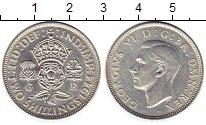 Изображение Монеты Европа Великобритания 2 шиллинга 1944 Серебро XF+