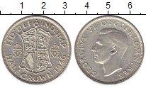 Изображение Монеты Европа Великобритания 1/2 кроны 1946 Серебро XF