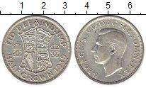 Изображение Монеты Европа Великобритания 1/2 кроны 1939 Серебро XF