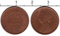 Изображение Монеты Индия 1/12 анны 1878 Медь XF