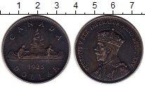 Изображение Монеты Северная Америка Канада 1 доллар 1935 Серебро XF-