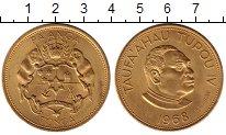 Изображение Монеты Австралия и Океания Тонга 1 паанга 1968 Медно-никель UNC