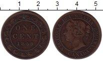 Изображение Монеты Северная Америка Канада 1 цент 1859 Медь VF