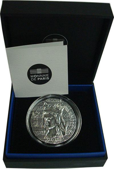 Изображение Подарочные монеты Франция 10 евро 2016 Серебро UNC