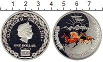 Изображение Монеты Токелау 1 доллар 2014 Серебро Proof-