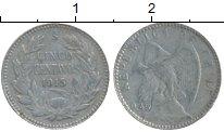 Изображение Монеты Южная Америка Чили 5 сентаво 1915 Серебро XF