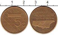 Изображение Монеты Нидерланды 5 центов 1989 Латунь XF