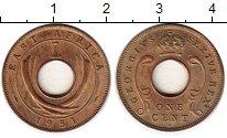 Изображение Монеты Восточная Африка 1 цент 1951 Бронза UNC- Георг VI
