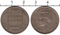 Изображение Монеты Монако 100 франков 1958 Медно-никель XF