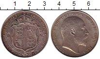 Изображение Монеты Великобритания 1/2 кроны 1902 Серебро UNC-