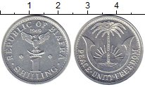 Изображение Монеты Африка Биафра 1 шиллинг 1969 Алюминий UNC-
