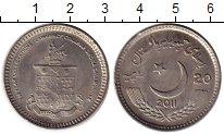 Изображение Монеты Пакистан 20 рупий 2011 Медно-никель UNC