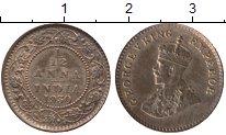 Изображение Монеты Азия Индия 1/12 анны 1930 Бронза XF