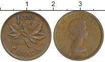 Изображение Монеты Канада 1 цент 1964 Бронза VF
