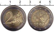 Изображение Мелочь Эстония 2 евро 2016 Биметалл UNC-