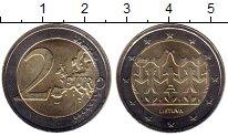Изображение Монеты Литва 2 евро 2018 Биметалл UNC-
