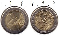 Изображение Монеты Италия 2 евро 2005 Биметалл UNC-