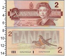 Изображение Банкноты Канада 2 доллара 1986  UNC