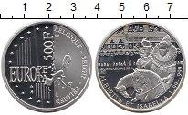 Изображение Монеты Европа Бельгия 500 франков 1999 Серебро Proof-