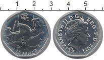 Изображение Монеты Европа Великобритания 50 пенсов 2011 Серебро Proof