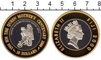 Изображение Монеты Фиджи 10 долларов 2000 Серебро Proof