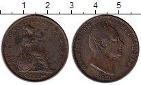 Изображение Монеты Великобритания 1/2 пенни 1831 Медь VF+
