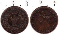 Изображение Монеты Канада Новая Скотия 1/2 цента 1864 Медь XF