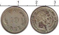 Изображение Монеты Европа Дания 10 эре 1903 Серебро XF