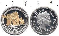 Изображение Монеты Европа Великобритания 1 фунт 2008 Серебро Proof