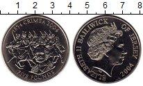 Изображение Монеты Остров Джерси 5 фунтов 2004 Медно-никель UNC-