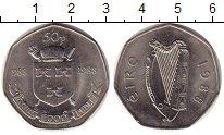 Изображение Монеты Ирландия 50 пенсов 1988 Медно-никель UNC-