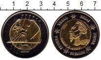 Изображение Монеты Европа Швеция 2 евро 2004 Биметалл UNC