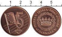 Изображение Монеты Дания 5 евроцентов 2002 Бронза UNC