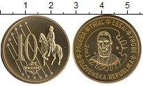 Изображение Монеты Европа Словакия 10 евроцентов 2003 Латунь UNC