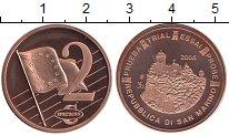 Изображение Монеты Европа Сан-Марино 2 евроцента 2005 Бронза UNC