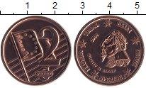 Изображение Монеты Европа Швеция 2 евроцента 2004 Бронза UNC