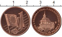 Изображение Монеты Европа Польша 1 евроцент 2003 Бронза UNC
