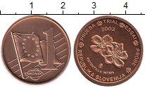 Изображение Монеты Европа Словения 1 евроцент 2003 Бронза UNC