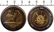 Изображение Монеты Великобритания Гернси 2 евро 2003 Биметалл UNC