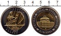 Изображение Монеты Европа Румыния 2 евро 2003 Биметалл UNC