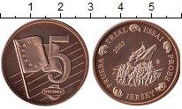 Изображение Монеты Остров Джерси 5 евроцентов 2003 Бронза UNC