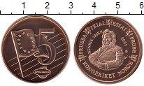 Изображение Монеты Норвегия 5 евроцентов 2005 Бронза UNC UNUSUAL