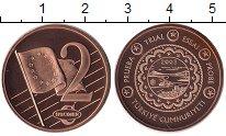 Изображение Монеты Турция 2 евроцента 2003 Бронза UNC