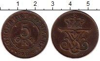 Изображение Монеты Европа Дания 5 эре 1912 Бронза XF