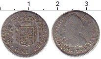 Изображение Монеты Гватемала 1 реал 1791 Серебро VF